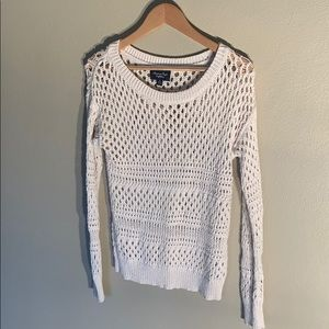 Fishnet sweater from American Eagle